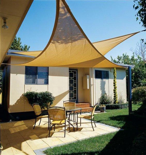 Vorteile Der Sonnensegel Für Terrasse Dekorative Terrassenbeschattung