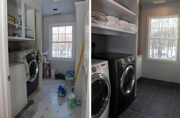 Wohnung Renovierung im Trend  inspirierende Vorher