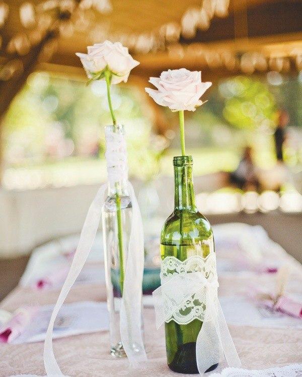 Romantische Hochzeit Dekoration  Ideen in Wei und Gelb