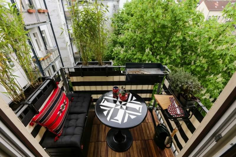 Terrassen Sichtschutz Deko Varianten ? Bitmoon.info Sichtschutz Balkon Varianten Aus Holz