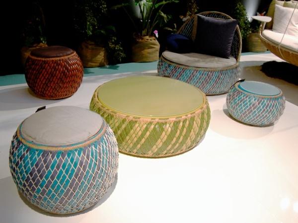 Rattan Gartenmbel afrikanischer Stil fr Garten und Balkon von Dedon