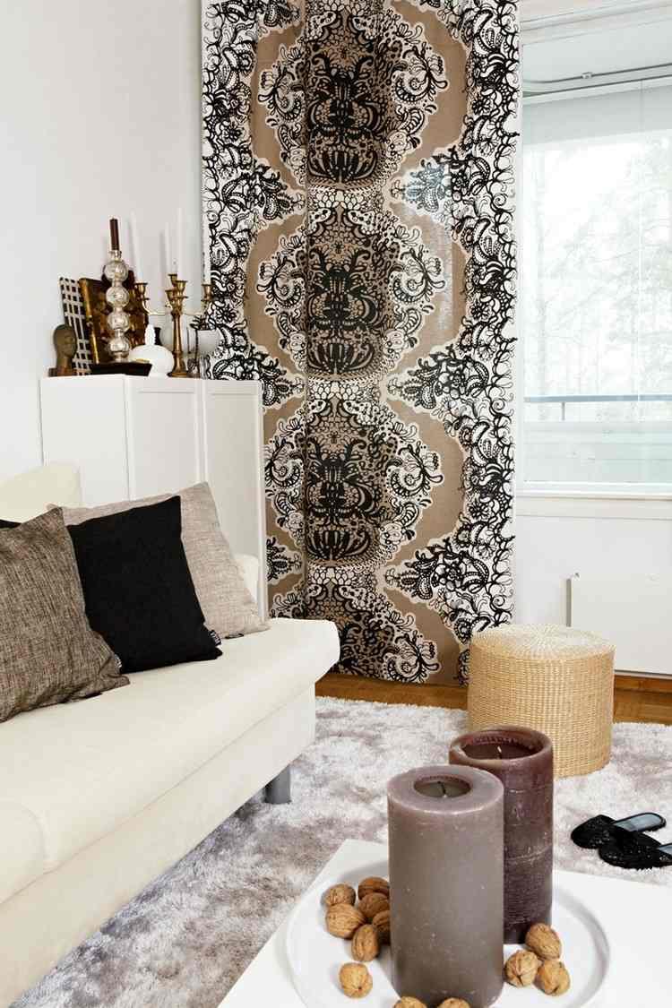 Wohnzimmer Vorhange Ideen Noveric Com For | Ifmore Vorhange Wohnzimmer Braun