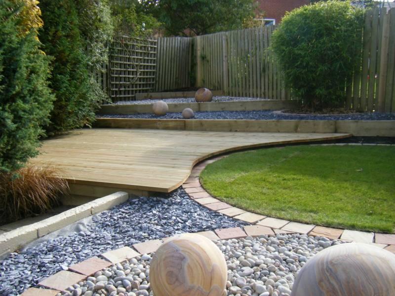 Gartengestaltung mit Steinen  18 inspirierende Ideen