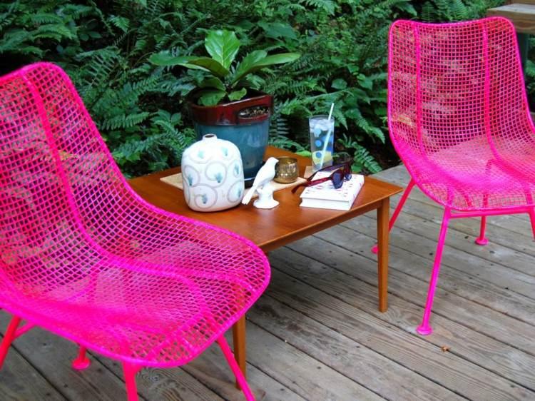 20 Ideen fr Outdoor Mbel Design als spannender Blickfang im Garten