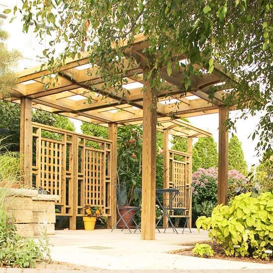 Pergola Im Garten Funktionale Designs – sweetmenu.info