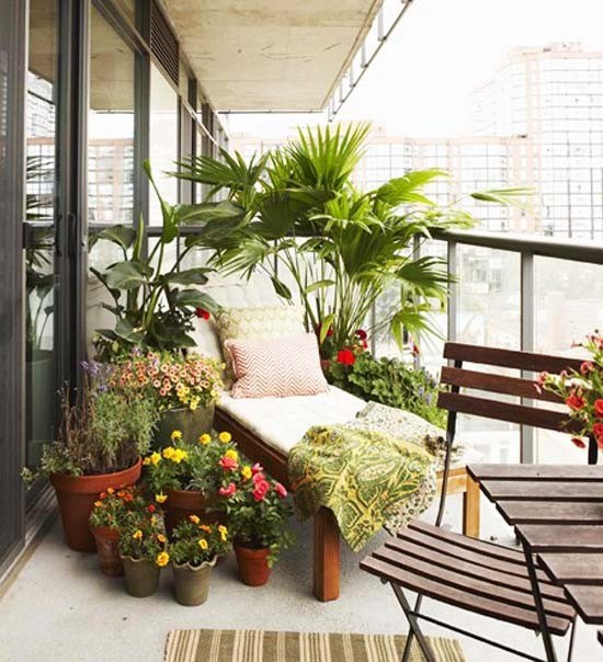 Sichtschutz Fuer Den Balkon Varianten Aus Holz Pflanzen Und ... Terrassen Sichtschutz Deko Varianten