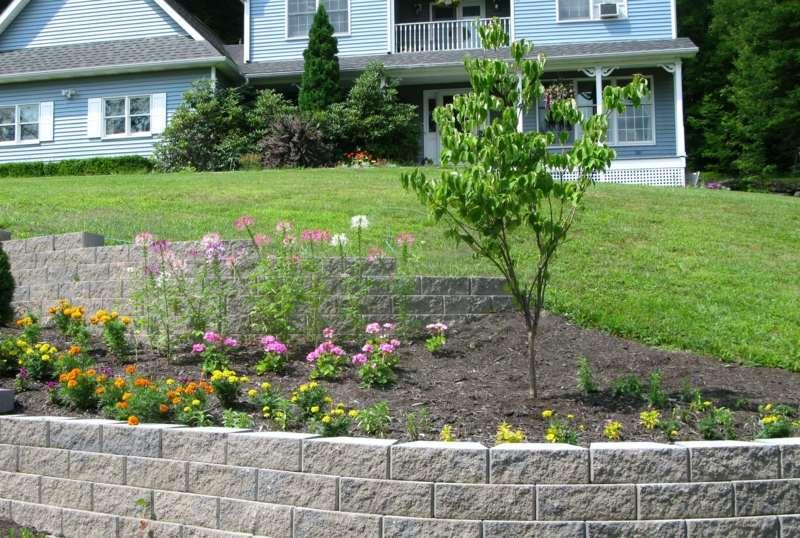 beet terrassen gartengestaltung am hang - boisholz, Garten und erstellen