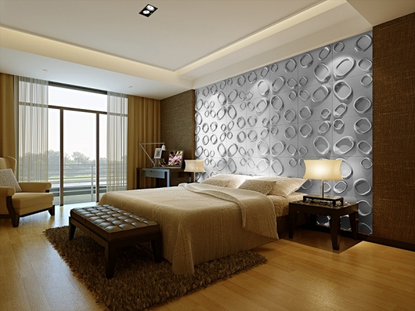 Ideen Fur Effektvolle Schlafzimmer Wandgestaltung – usblife.info