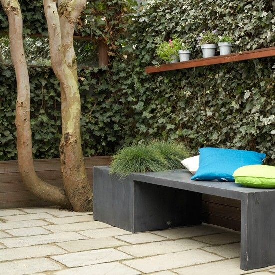 Awesome Gartenbank Mit Sichtschutz Gallery - Home Design Ideas ...