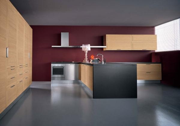 design wohnzimmer farbe rot modernes wohnzimmer einrichten, Möbel