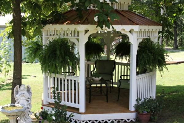 pavillon klein holz gartenlaube bauen die vielen funktionen vom, Gartengerate ideen