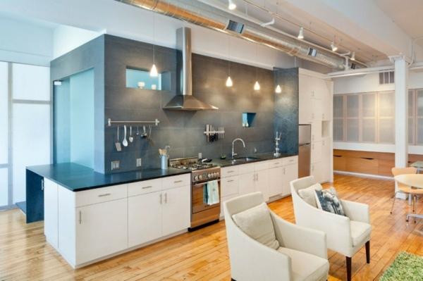 Loft Wohnung Renovierung mit Vorher  Nachher Vergleich