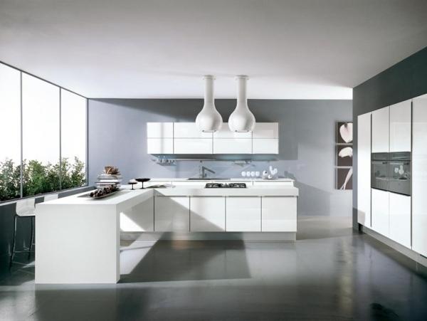 dunkle küche boden | treppengeländer streichen in weiß und