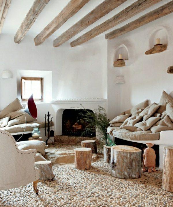 Wohnzimmer Wande Putz Ideen Modern Dekoo   Boisholz, Modern Dekoo