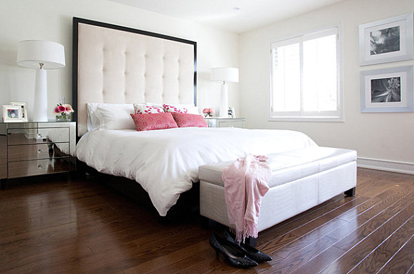 Bunte Bettwasche Und Kissen Schlafzimmer Auffrischen Mit Bunter ...