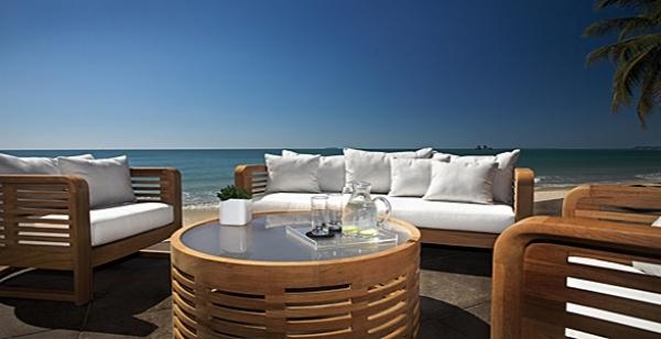 Teakholz Gartenmobel Design Lounge Set Outdoor