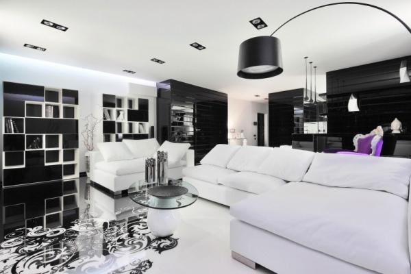 wohnzimmer farben ideen sofa set offene regal systeme wei