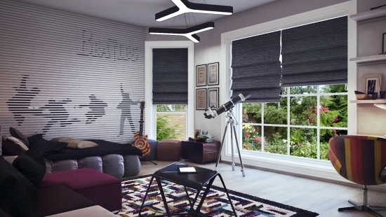 wandgestaltung moderne wandgestaltung fur madchenzimmer | moregs, Schlafzimmer