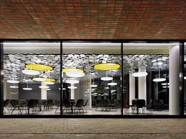 Die neue Designer Kantine vom Spiegel Magazin im Hamburger