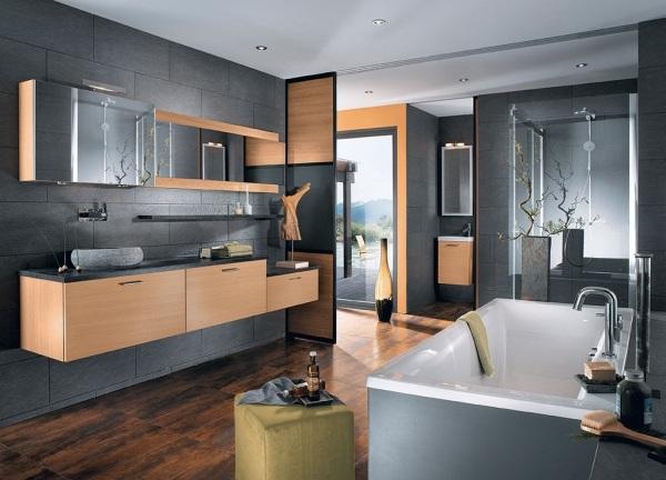 Waschbecken Blau   Badeinrichtung Modern