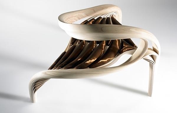 Erstaunliche Designer Holzmbel vereinen Skulptur und Handwerkskunst