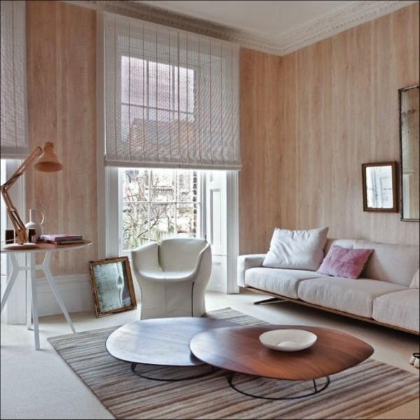 Die Holz Wandverkleidung innen natrlich und modern wirken lassen