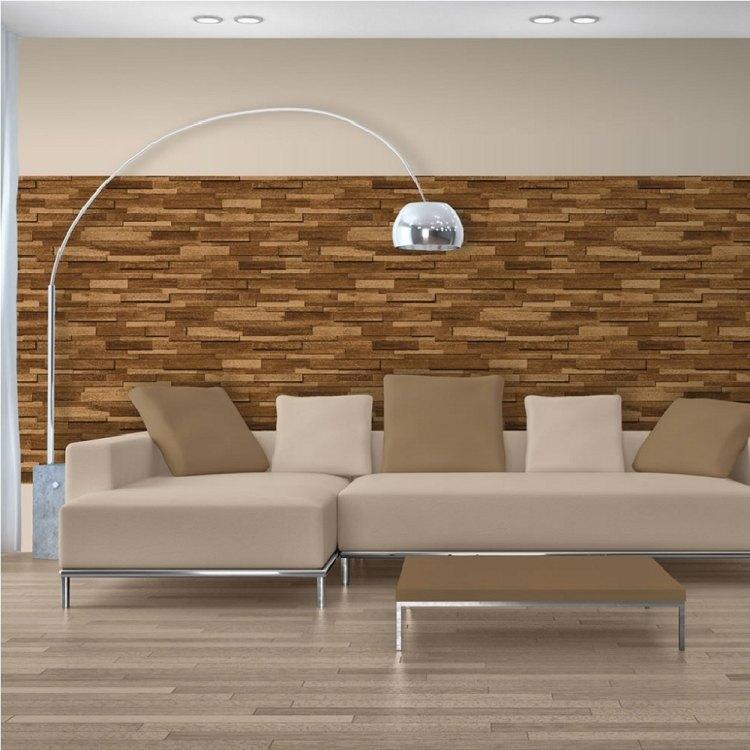 Die Holz Wandverkleidung Innen Natürlich Und Modern Wirken