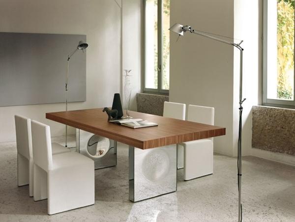 innovative esstisch designs moderne esszimmer | möbelideen, Esszimmer