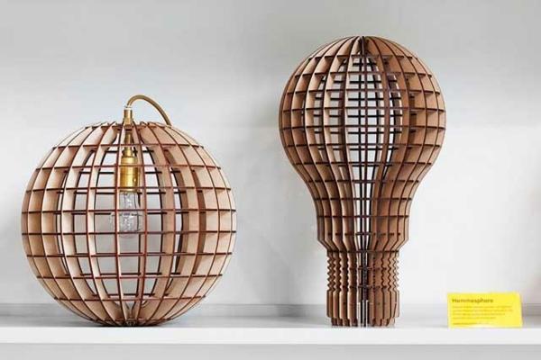 Deko und Mbel Design aus Holz fr ein charmantes Ambiente