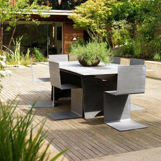 Terrassen Gestaltung  Ideen fr stilvollen Patio Bereich