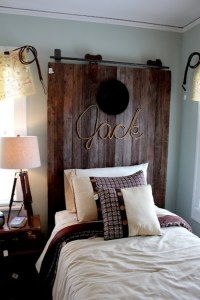 Schlafzimmer mit kreativen Kopfbrett Ideen zum ...