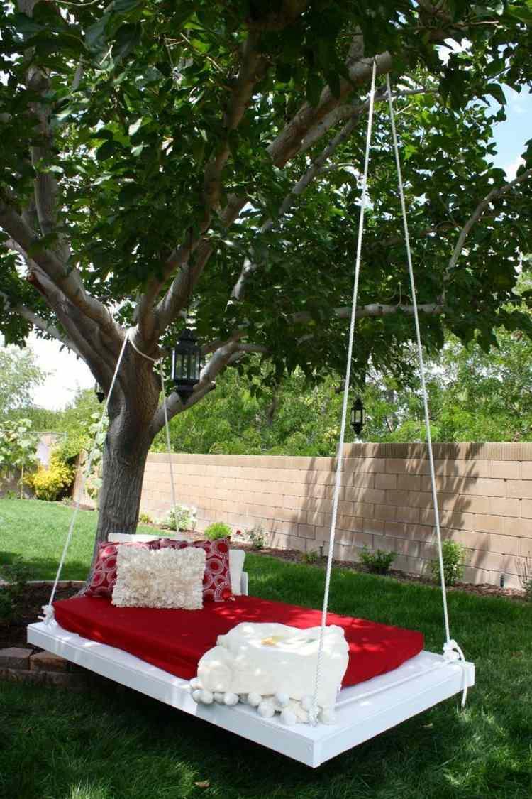 Schaukel im Garten  berblick ber Materialien Bau und Modelle
