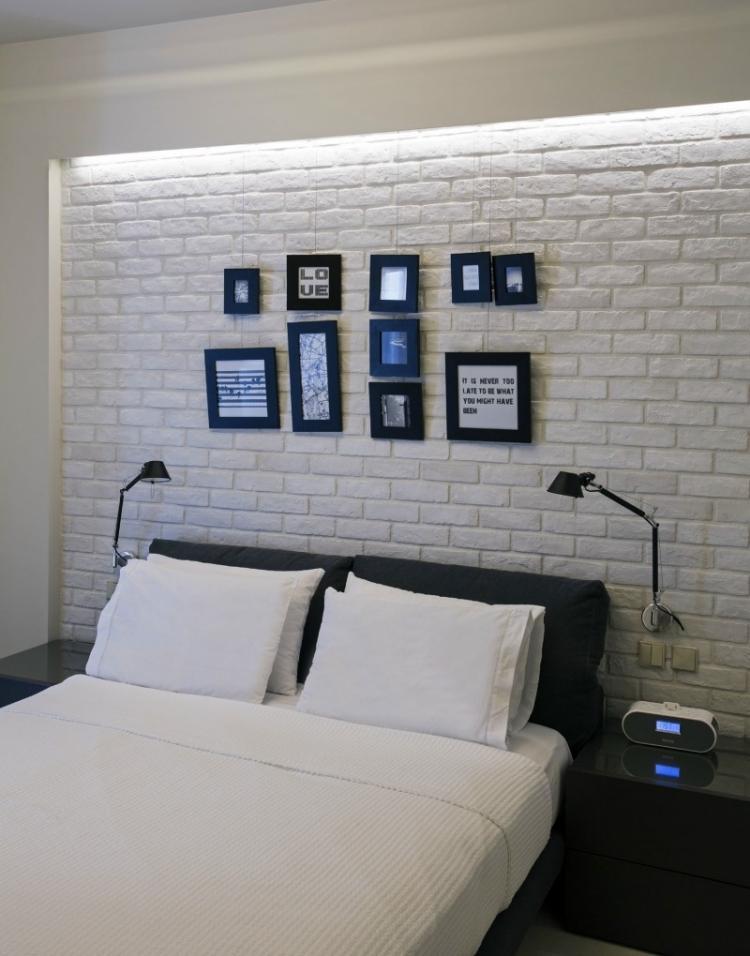 Beautiful Ideen Fur Effektvolle Schlafzimmer Wandgestaltung ...