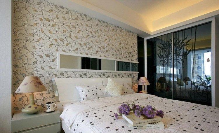 wanddeko bild textur minimalistisches schlafzimmer wei sehr coole, Badezimmer