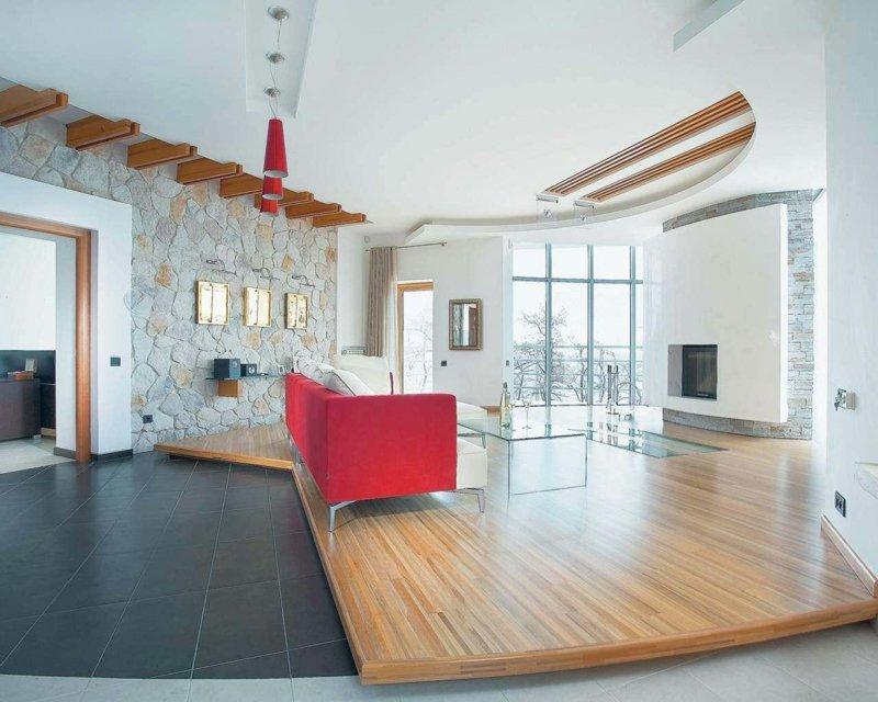 attraktive wandgestaltung im wohnzimmer wand in steinoptik verkleiden wohnzimmer 1 25