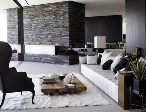 Wohnzimmer Design Schwarz weiß sdatec.com