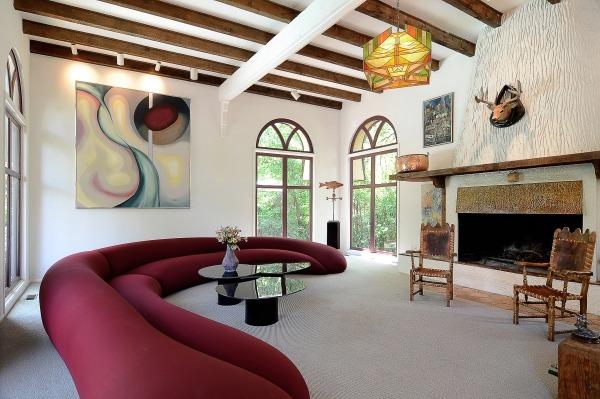 emejing holzbalken wohnzimmer modern contemporary - amazing design