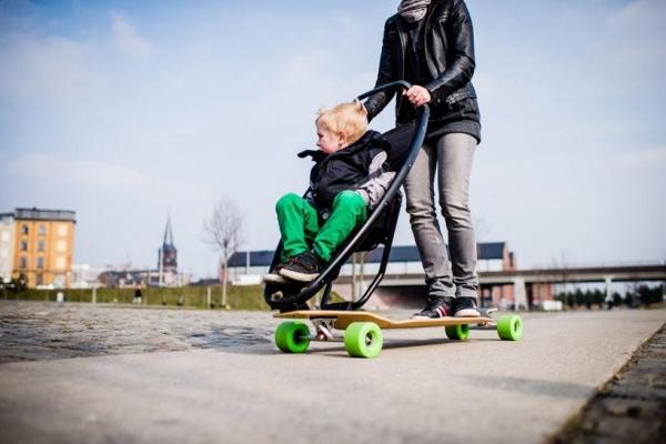 Designer Kinderwagen Longboard Quinny