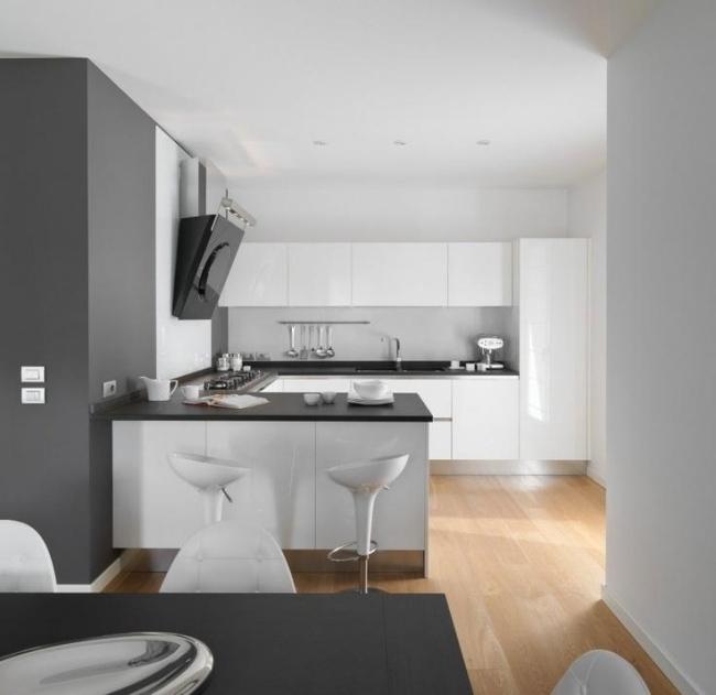 Schwarze Hochglanz Küche Bilder