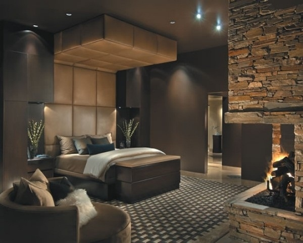schlafzimmer farben braun luxus komfort | möbelideen - Luxus Schlafzimmer Weiss