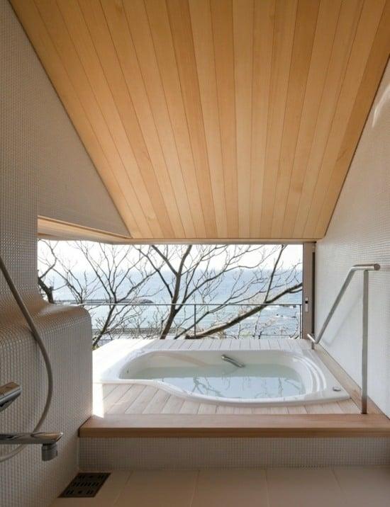 schlafzimmer ideen dachschr ge | sichtschutz, Badezimmer dekoo