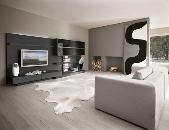 Design Wohnzimmer Schwarz Wei Braun Inspirierende Bilder Von Innenarchitektur Ideen