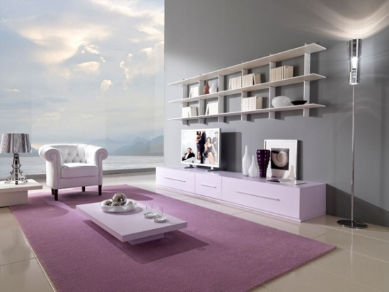 Wohnideen Wohnzimmer Lila Farbe Marikana Info Innenarchitektur Ideen