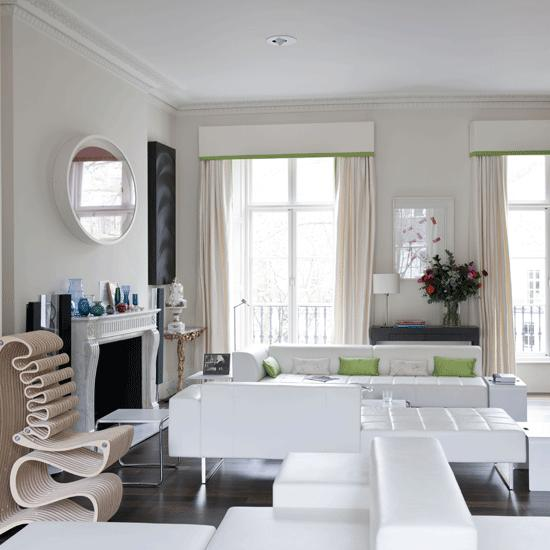 Design Moderne Wohnzimmer Wei Moderne Wohnzimmer Weiss Modern Mit ...
