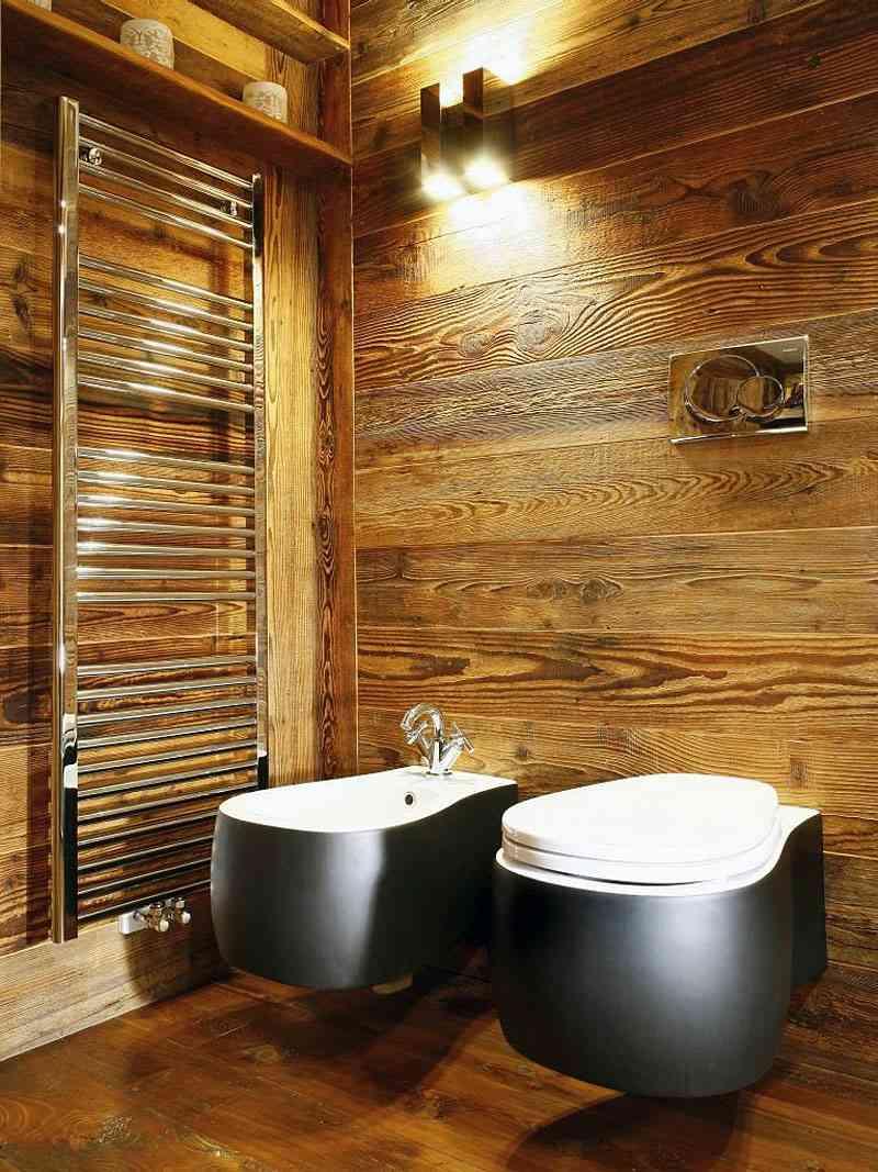 Badezimmer Holz