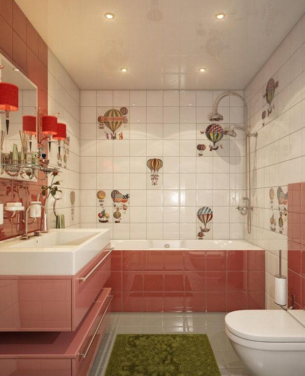 20 Deko Ideen frs Badezimmer  Dekorative Wandakzente und
