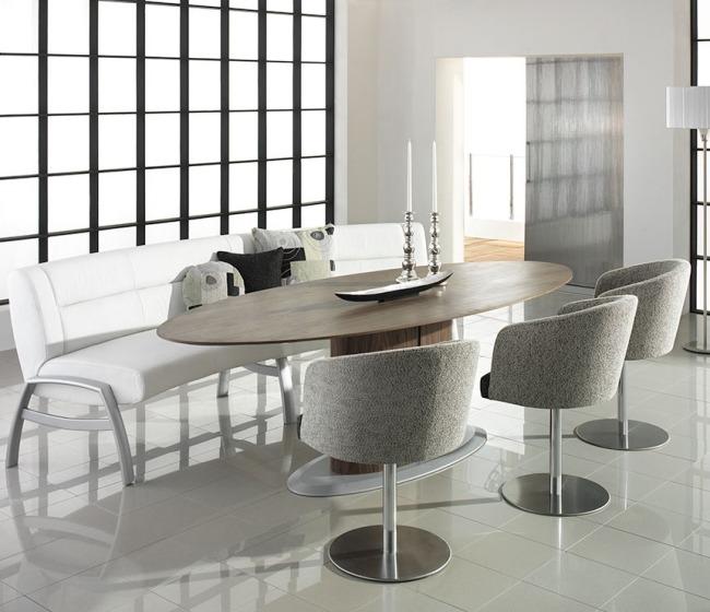 Sitzbank Mit Rückenlehne Weiß   Paletten Lounge Möbel ...