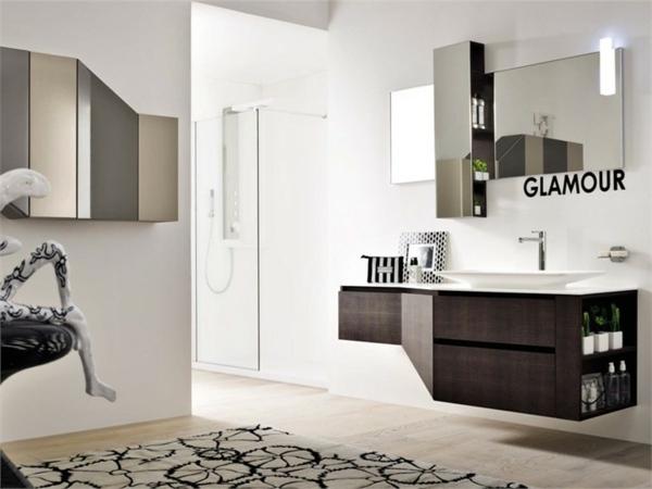 Der Moderne Spiegelschrank Im Badezimmer Bietet Mehr Als