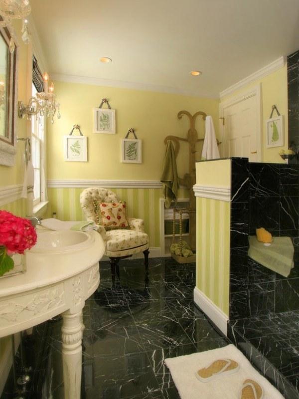 Welche Farbe frs Badezimmer  20 Ideen in einer breiten