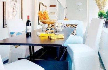 Wohnung Renovierung vereinigt rustikal und modern